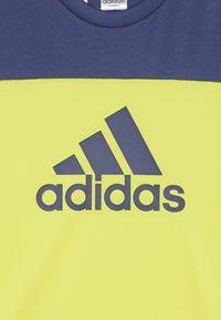 adidas Performance - TEE - T-Shirt print - yellow - 3