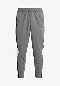 Puma - REACTIVE PACKABLE PANT - Outdoor trousers - castlerock black/white - 7