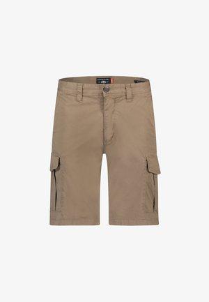Shorts - greenbrown plain