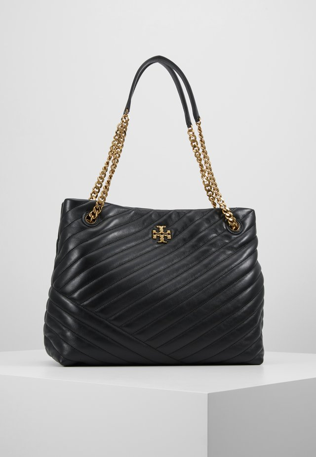 KIRA CHEVRON TOTE - Sac à main - black