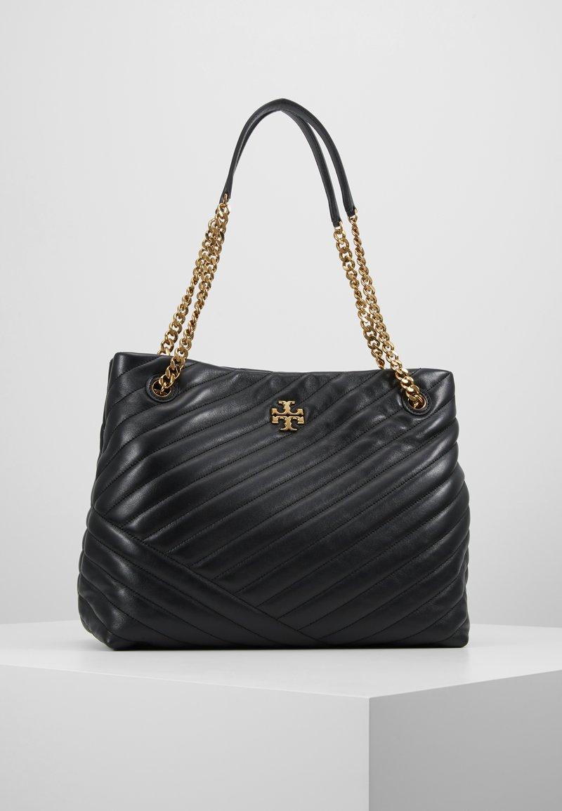 Tory Burch - KIRA CHEVRON TOTE - Handbag - black