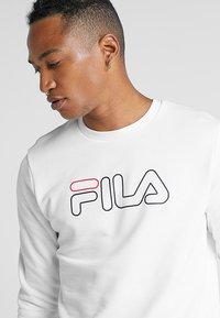 Fila - LIAM CREW - Sweatshirt - brightwhite - 3