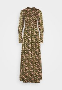 Scotch & Soda - SHEER MAXI DRESS WITH ALL OVER PRINT - Maxi šaty - green - 5