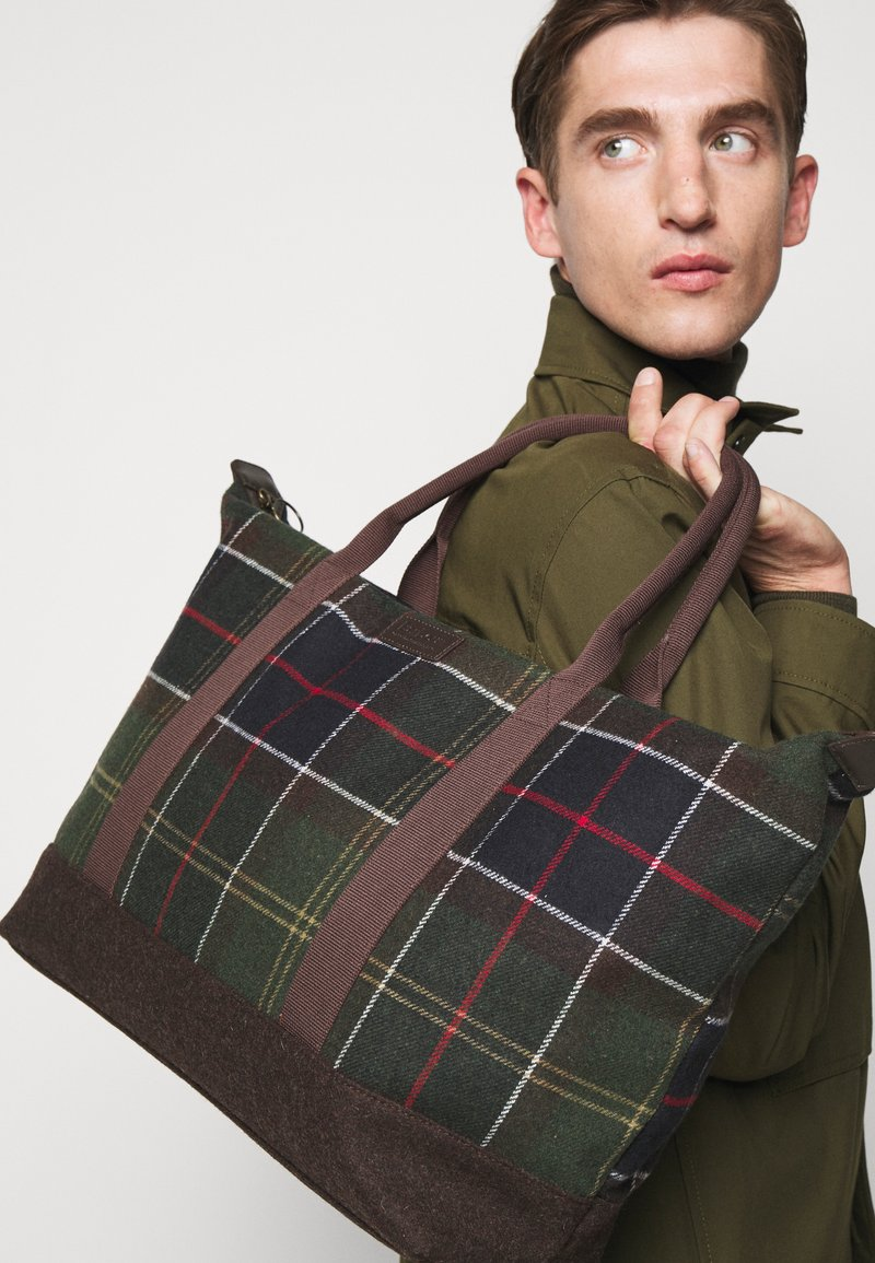 Barbour - ELGIN HOLDALL - Tote bag - multi-coloured/green