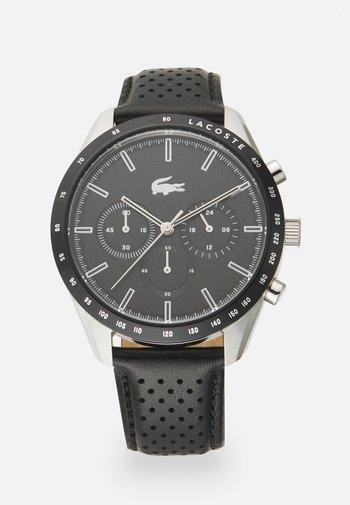 BOSTON - Chronograph watch - black