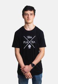 Platea - Basic T-shirt - schwarz - 0