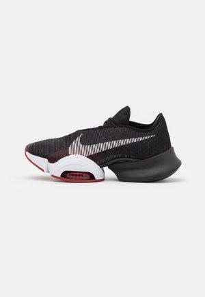 AIR ZOOM SUPERREP 2 - Zapatillas de entrenamiento - black/white/dark cayenne/solar flare/gym red/pure platinum