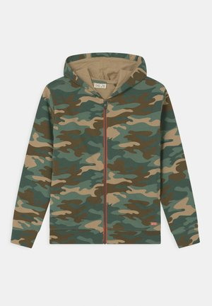 CAMO CARDIGAN - Zip-up hoodie - multicolour