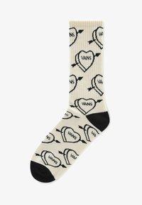 Vans - UA LOVE HATE CREW (6.5-9, 1PK) - Socks - seedpearl - 0