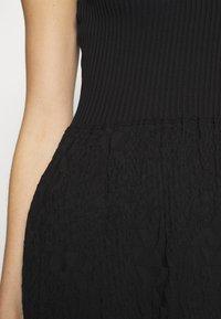 M Missoni - SLEEVES DRESS - Jumper dress - black - 7