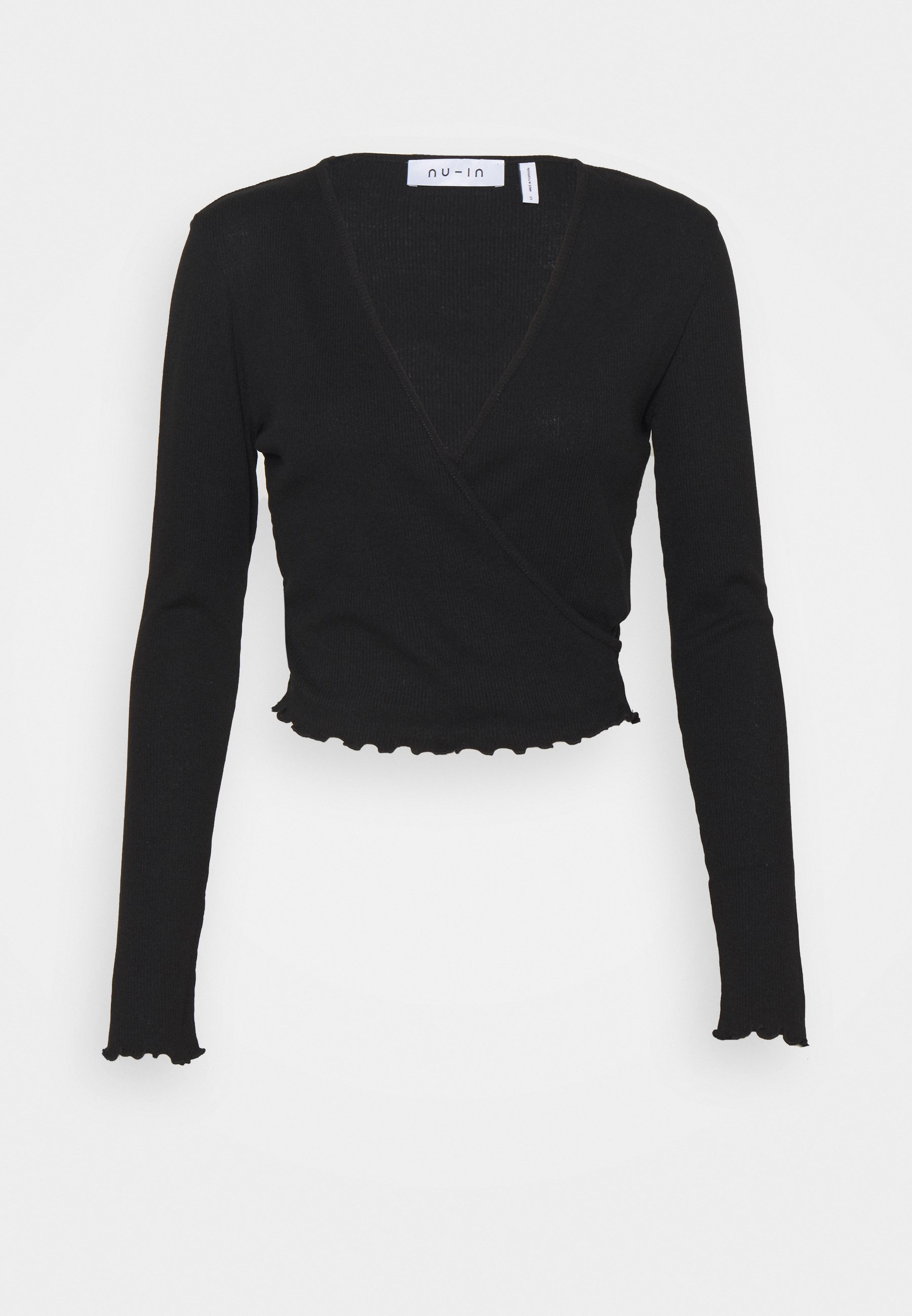 Women FRONT WRAP LONG SLEEVE - Long sleeved top