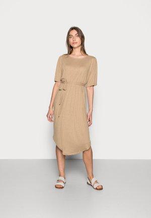 BEACH DRESS SOLID - Jersey dress - kelp