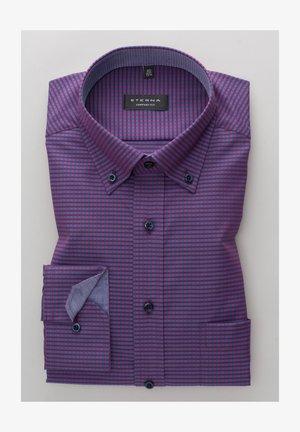 LANGARM  - Zakelijk overhemd - lila/blau