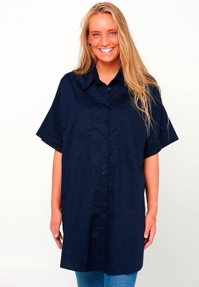MAIDEN - Button-down blouse - navy