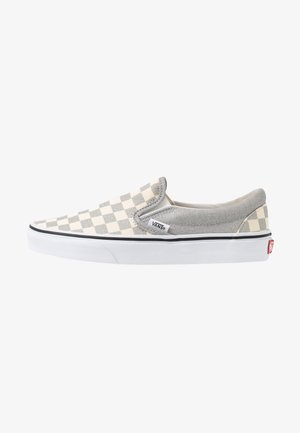 CLASSIC UNISEX - Slip-ons - silver/true white