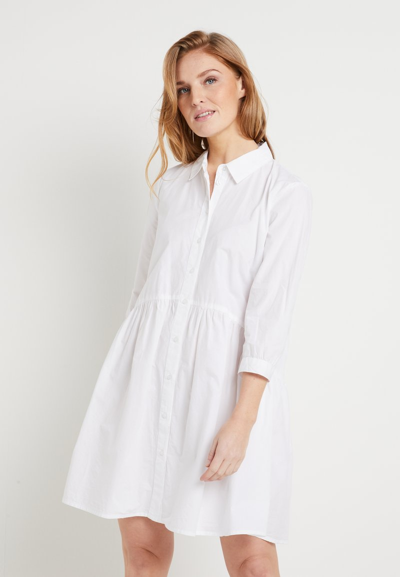 Kaffe - KADALE - Shirt dress - optical white