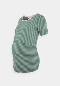 Esprit Maternity - NURSING - Print T-shirt - vinyard green - 0