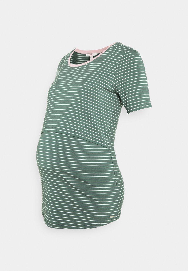Esprit Maternity - NURSING - Print T-shirt - vinyard green