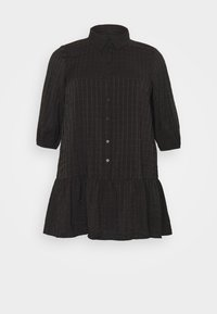 ONLY Carmakoma - CARPIERRA TUNIC DRESS - Day dress - black - 4