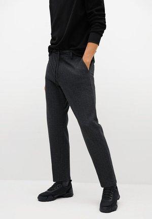 NOLEN - Pantalon classique - dunkelgrau meliert