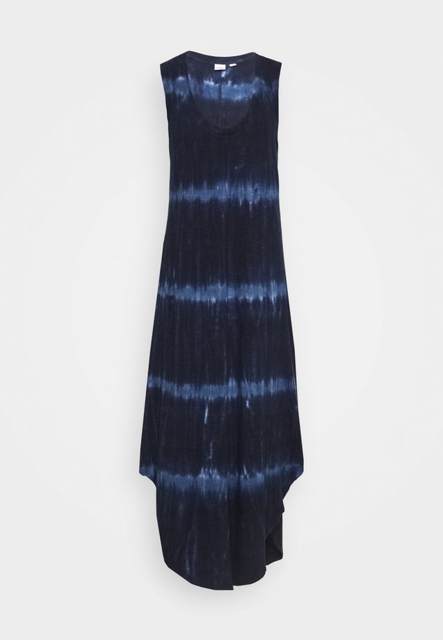 TIE DYE - Maxi dress - blue