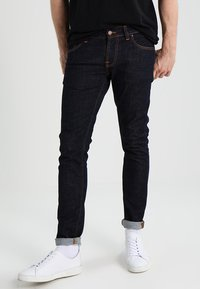 Nudie Jeans - TIGHT TERRY - Vaqueros pitillo - rinse twill - 0