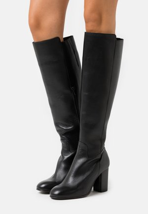 YASLARNA KNEE HIGH BOOTS - Boots - black