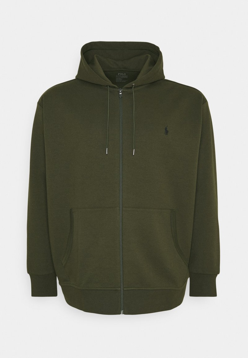 Polo Ralph Lauren Big & Tall - DOUBLE TECH - Tröja med dragkedja - company olive