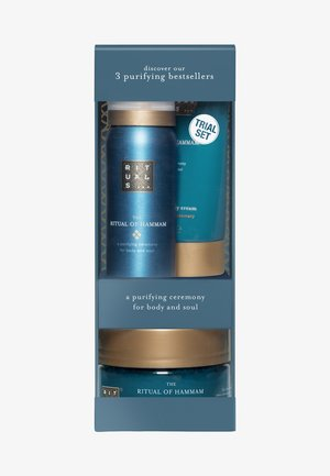 THE RITUAL OF HAMMAM TRY ME SET, GESCHENKSET, XS - Bath and body set - -