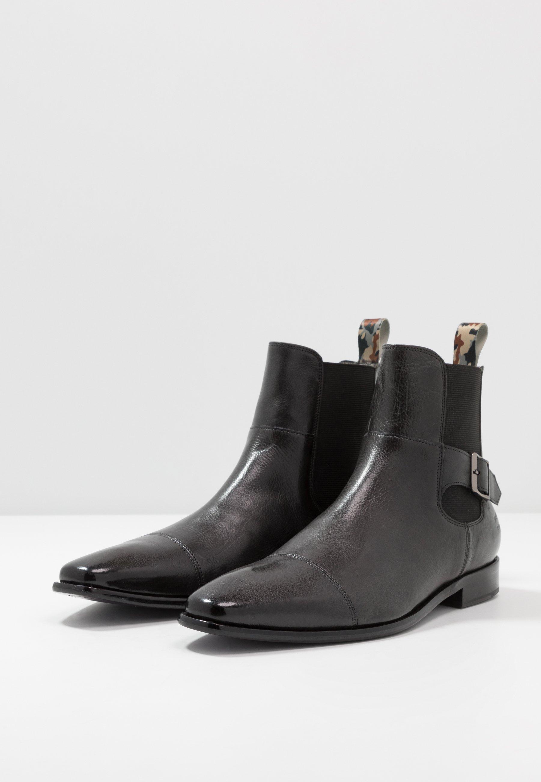 High-Quality Cheap Cheapest Melvin & Hamilton ELVIS - Classic ankle boots - black   men's shoes 2020 A0Og9