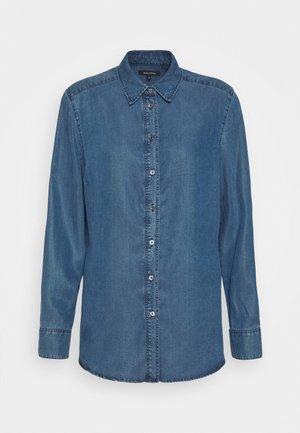 BLOUSE LONG SLEEVE - Skjorta - denim blue