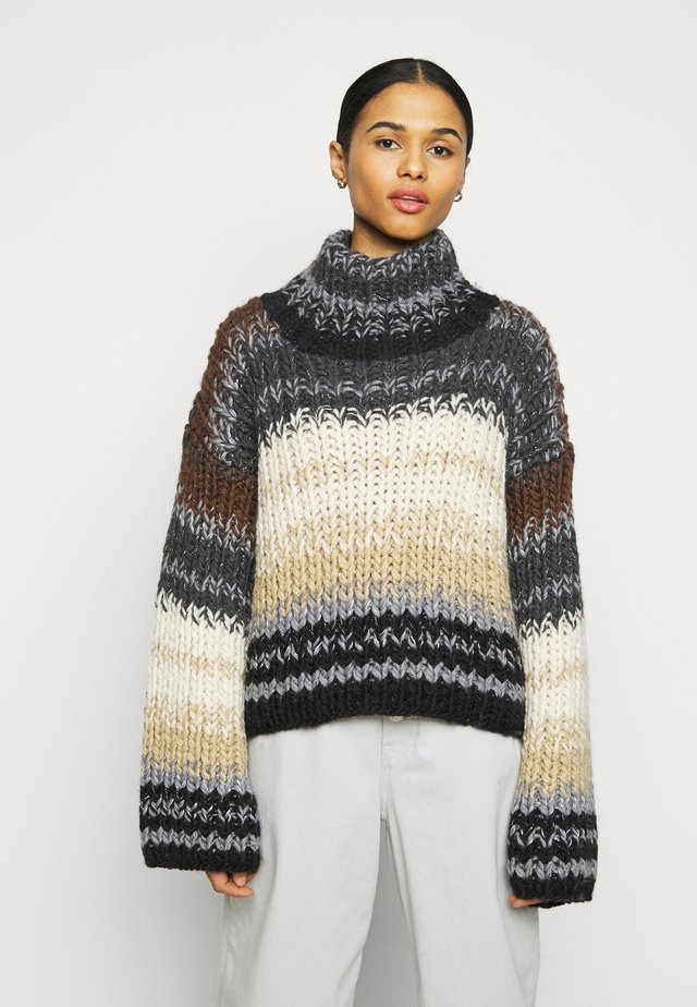 NADJA NIGHT - Strickpullover - multi-color