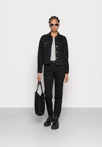 Levi's® - ORIGINAL TRUCKER - Giacca di jeans - black - 1
