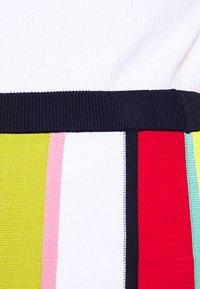 J.CREW - RAINBOW STRIPE SKIRT - A-line skirt - navy/bohemian rose/multi - 4
