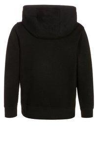 Nike Performance - FULL ZIP - Zip-up hoodie - black/white - 1