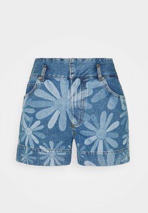 Denim shorts - bleu denim