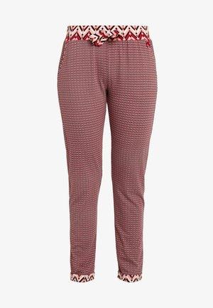 PANTS LONG - Pyjamabroek - red