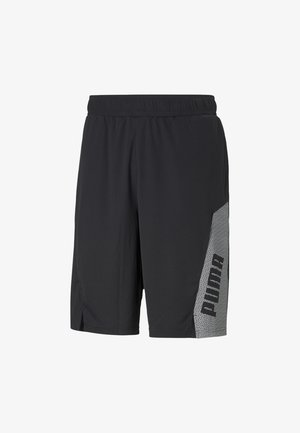 Sports shorts -  black- white