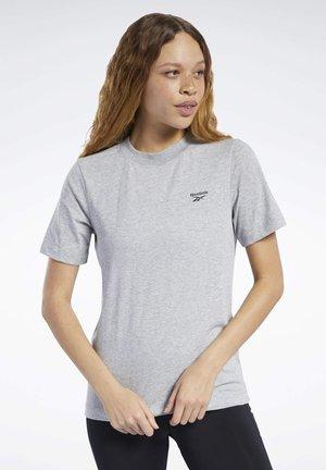 TRAINING ESSENTIALS EASY TEE - T-shirts med print - grey