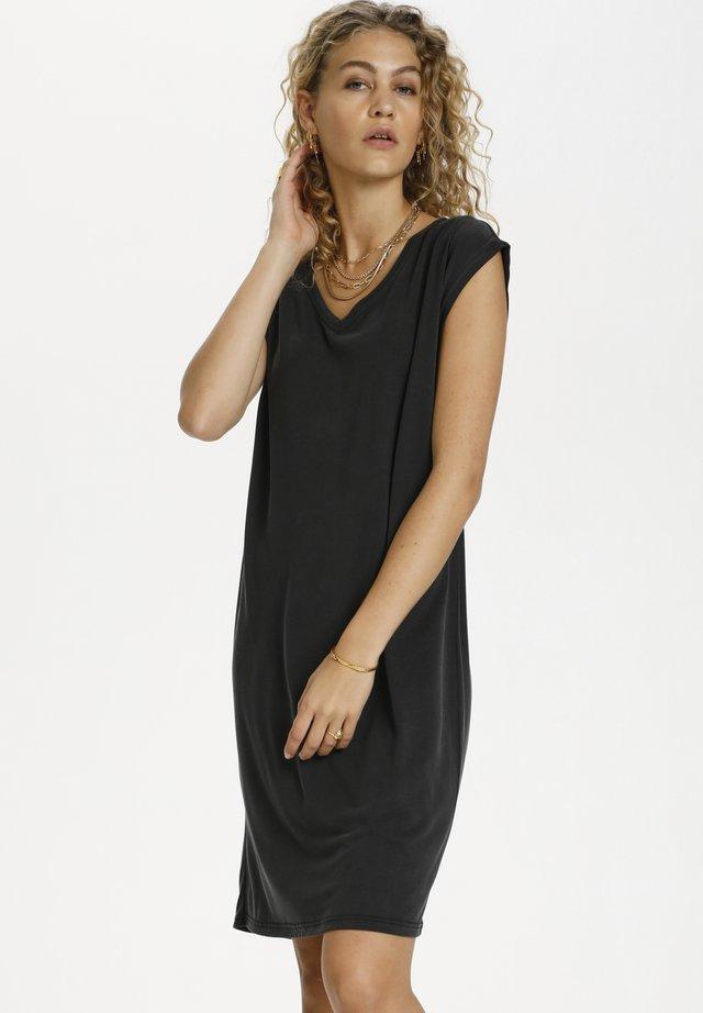 SAGA - Abito in maglia - black wash