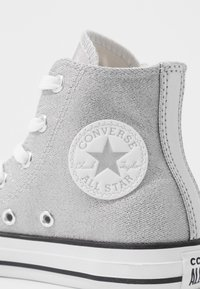 Converse - CHUCK TAYLOR ALL STAR SIDE ZIP - Zapatillas altas - silver/white/mouse - 2