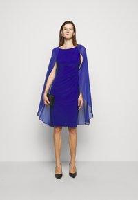 Lauren Ralph Lauren - CLASSIC DRESS COMBO - Cocktail dress / Party dress - french ultramarin - 1