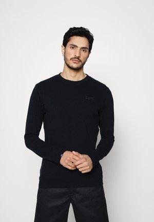 VINTAGE LOGO - Långärmad tröja - black
