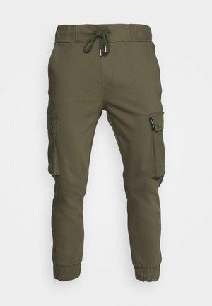 LORENZ - Cargo trousers - khaki