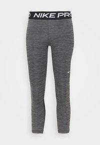 Nike Performance - CROP - Leggings - black/white - 4