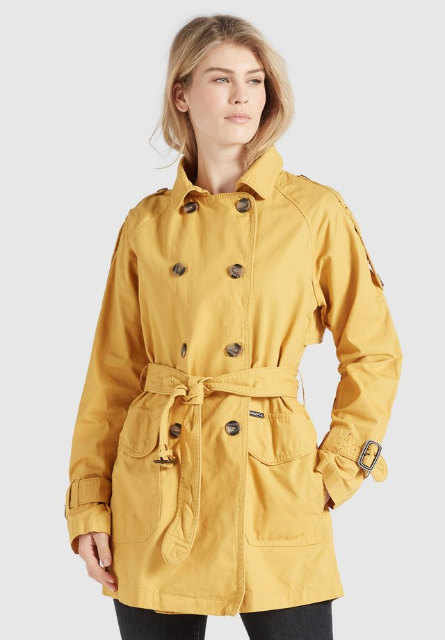 INESSA - Trenchcoat - yellow