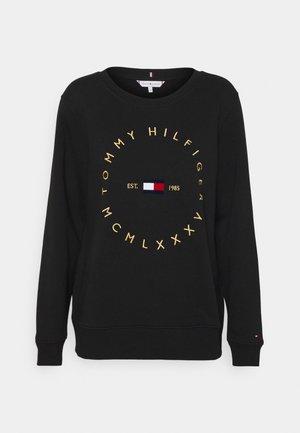 REGULAR CIRCLE  - Sweatshirt - black