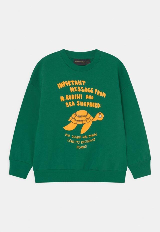TURTLE UNISEX - Sweatshirt - green