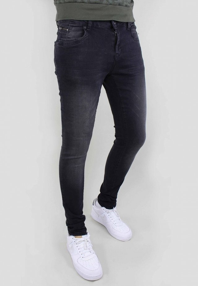 ULTIMO - Jeans Skinny Fit - black used