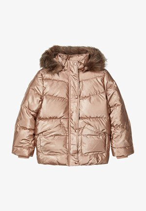 Winter coat - gold colour
